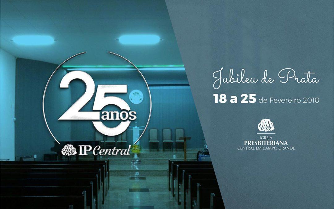 JUBILEU DE PRATA Igreja local