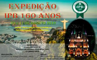 Expedição RIO 160 anos IPB